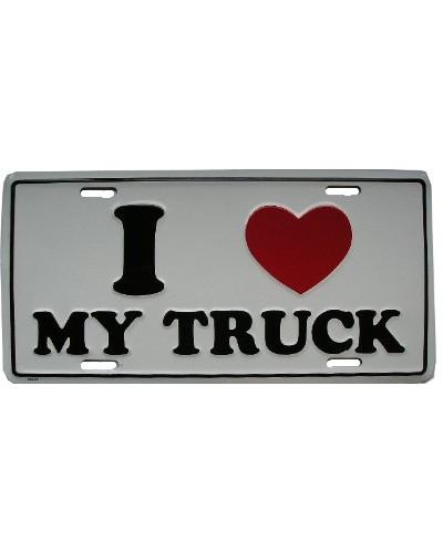 Americká ŠPZ I love My Truck