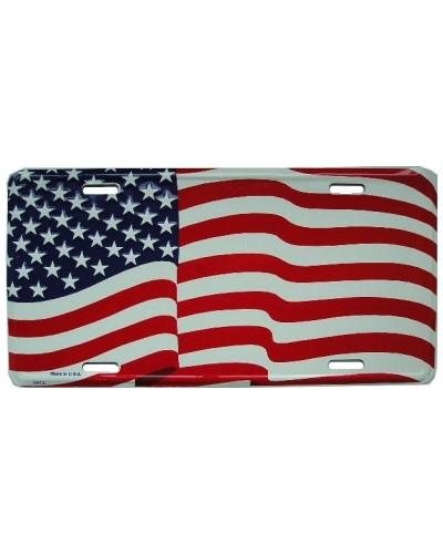 Americká ŠPZ US Flag