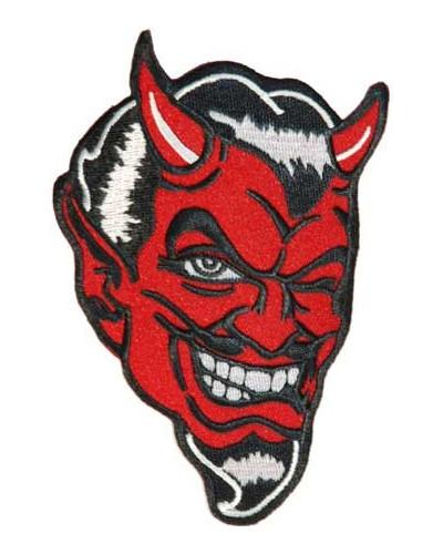Moto nášivka Devil 6 cm x 9 cm