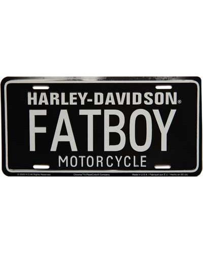 Americká ŠPZ Harley Davidson Fatboy