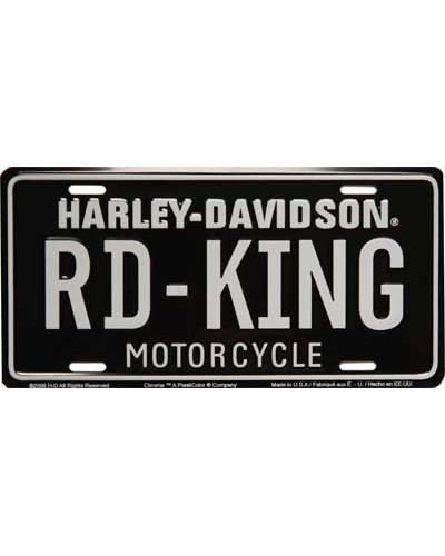Americká ŠPZ Harley Davidson Road-King