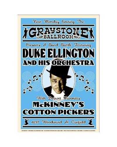 Koncertné plagát Duke Ellington, 1933