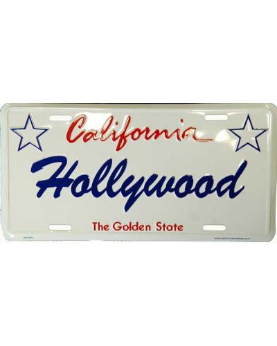 Americká ŠPZ Hollywood California