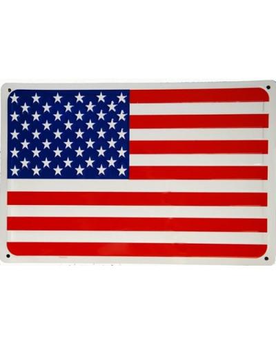 Plechová ceduľa vlajka USA 45cm x 30cm