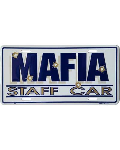 Americká ŠPZ Mafia Staff Car