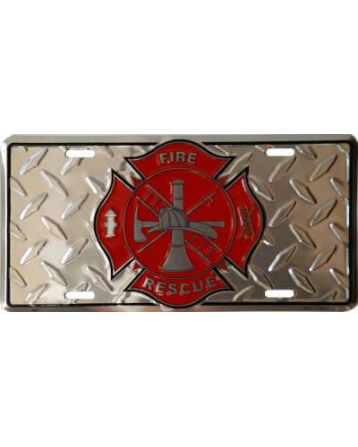 Americká ŠPZ Firefighter