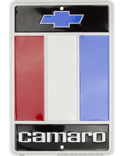 Plechová ceduľa Chevy Camaro small 20cm x 30cm