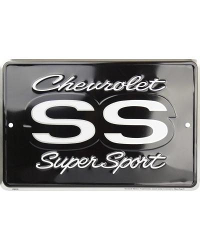 Plechová ceduľa Chevrolet Camaro SS, 20cm x 30cm