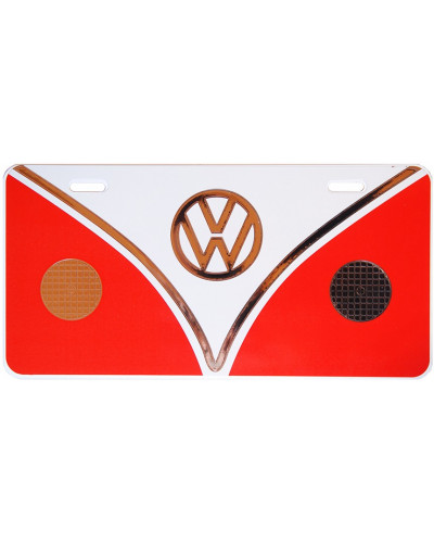 Americká ŠPZ Volkswagen Bus plate