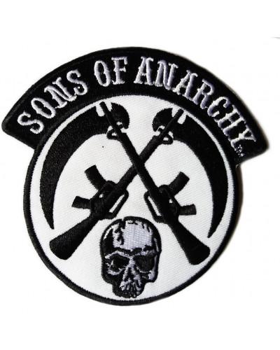 Moto nášivka Sons of Anarchy 9 cm x 9 cm