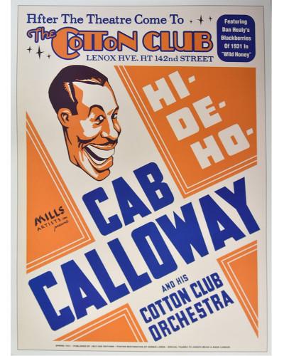 Koncertné plagát Cab Calloway, NYC, 1931