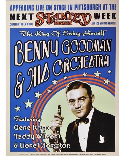 Koncertné plagát Benny Goodman, Pittsburgh 1936