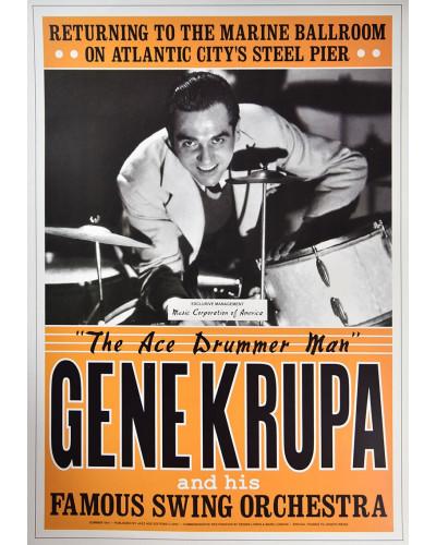 Koncertné plagát Gene Krupa, 1941