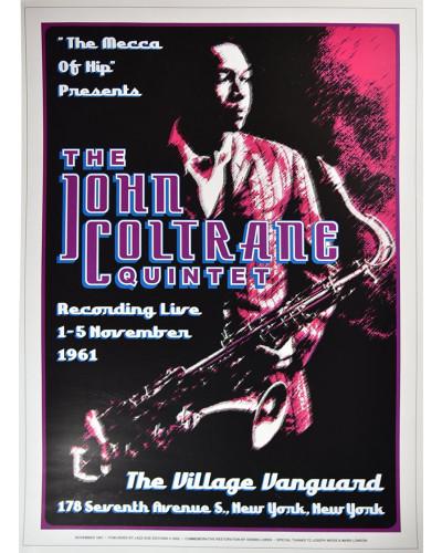 Koncertné plagát John Coltrain, 1961