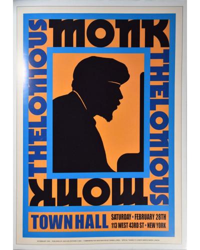 Koncertné plagát Thelonious Monk 1959