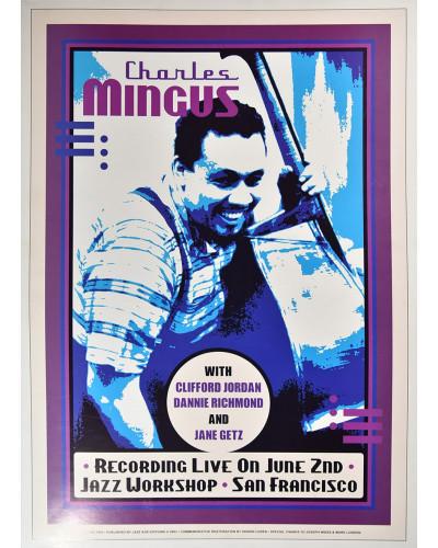 Koncertné plagát Charles Mingus, 1964