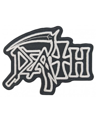 Moto nášivka Death 10 cm x 7 cm