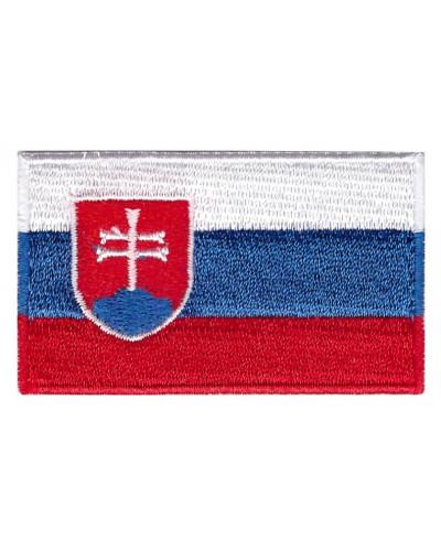 Nášivka slovenských vlajka 6 cm x 3,5 cm