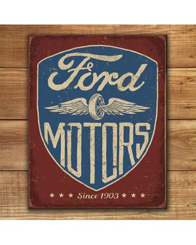 Plechová ceduľa Ford Motors Since 1903 p