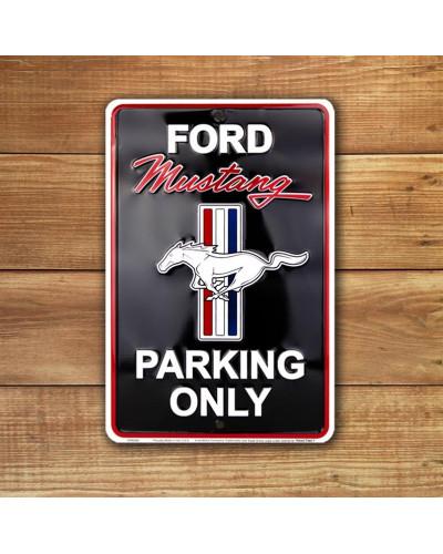 Plechová ceduľa Ford Mustang Parking small 20cm x 30cm