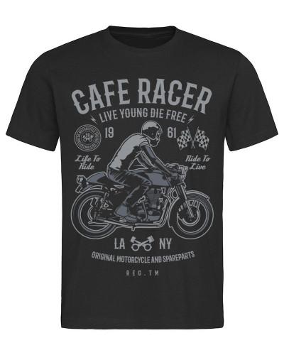 Tričko Cafe Racer 1961 čierne