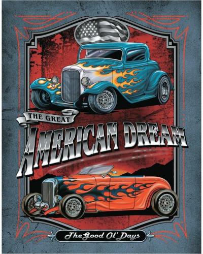 Plechová ceduľa Legends - American Dream 32 cm x 40 cm