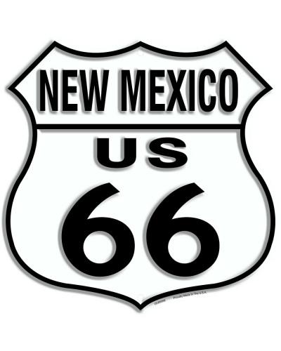 Plechová ceduľa Route 66 New Mexico Shield 30cm x 30cm