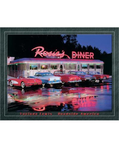 Plechová ceduľa Lewis- Rosies Diner 32 cm x 40 cm